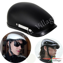 $enCountryForm.capitalKeyWord Australia - New Leisure Style Motorcycle Helmet Half Face Vintage Motorbike Helmet Retro Light Weight Berets Helmts For Man and Woman Riding