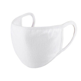 Wholesale Top Anti-Dust Masks Cotton Mask Mouth Face Mask Unisex Man Woman Cycling Wearing Black White Fashion High Quality