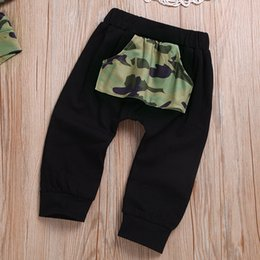 fall winter tutus Canada - Fall 2019 toddler Autumn Kids tracksuit boys camouflage hoodies little boy fashion clothes 5t winter children clothes D20