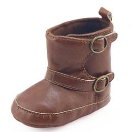 $enCountryForm.capitalKeyWord Australia - Brand New Newborn Infant Baby Girls Boys Boots Autumn Winter Soft Sole Prewalker Elastic Snow Shoes Boots