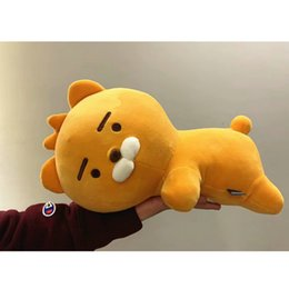 Kids Dog Australia - korea little friends Ryan Apeach Tube Muzi Plush animal Toys Korean Cartoon Dog Lion Doll Baby Kids Sleep Appease Toys Xmas Gift