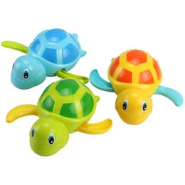 $enCountryForm.capitalKeyWord Australia - 20PCS Cute Cartoon Animal Tortoise Classic Baby Water Toy Infant Swim Turtle Wound-up Chain Clockwork Kids Beach Bath Toys