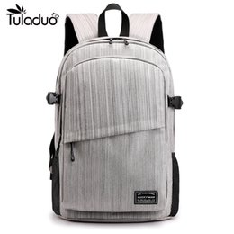 HigH scHool notebooks online shopping - High Quality Male Backpack Bag Brand Inch Laptop Notebook For Men Waterproof Back Pack Bag School Backpack High capacity
