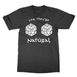 $enCountryForm.capitalKeyWord Australia - Yes They're Natural 20s unisex tshirt Dungeons and Dragons d and d tee funny
