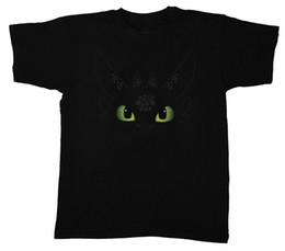 China Toothless How To Train Your Dragon Night Fury Men'S T-Shirt Fashionable 2019 Summer supplier toothless dragon suppliers