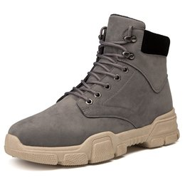 warm waterproof winter sneakers NZ - Winter Men's Boots Warm Boot With Waterproof Shoes Chaussure Mans Casual Shoes For Men Boots Footwear Man Sneakers YYJ204