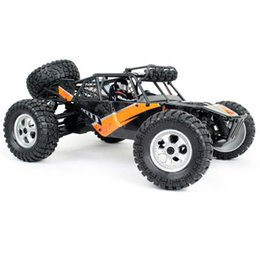 Battery Charging Units UK - 12815 Off-Road Vehicle 1:12 2.4G Four-Wheel Drive Desert High-Speed Climbing Big Foot Remote Control Car Toy 34 Km   Hour Control 100 M