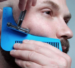 $enCountryForm.capitalKeyWord Australia - Beard Bro Beard Shaping Tool Styling Sharper Comb Men Perfect Lines Facial Hair Beard Trim Template Modelling Tools c0105