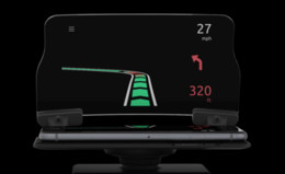 Car Heads Up Display Australia - HUD DISPLAY FOR ANY carhologram HUD Screen Head Up Display Car Safety Auto GPS Navigation Mobile Phone Holder Projector High Definition Refl