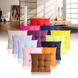dog chairs Australia - 13 Color Soft Comfortable Home Office Patio Chair Sofa Cushion Pillow 40x40cm Seat Dog Pads Garden Outdoor Furniture Decor