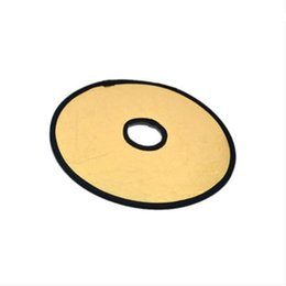 hollow board UK - TingAo 30cm Middle Hollow Reflector, Two-in-one Gold and Silver Flash, Soft Board