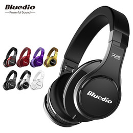 7cc7dc52c1b Bluedio U(UFO)High-End Bluetooth headphone Patented 8 Drivers 3D Sound  Aluminum alloy HiFi Over-Ear wireless headphone