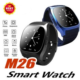 $enCountryForm.capitalKeyWord Australia - Bluetooth Smart Watch M26 Wristband With Camera support Facebook Whatsapp Twitter Sync SMS Smartwatch Support SIM TF Card For IOS Android