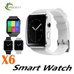 $enCountryForm.capitalKeyWord Australia - X6 Bluetooth Smart Watch Curved Screen Smartwatches Support Camera SIM Card TF Card Slot Smartwatch For Android Smartphones Samsung S8