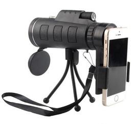 Monocular Telescope Bird Watching Australia - 40X60 Monocular Telescope HD Night Vision Prism Scope Portable with Phone Clip for Bird watching hunting