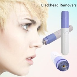 Discount pore cleaner spot blackhead acne remover Free shipping Mini Electric Facial Pore Cleanser Blackhead Removers Skin Cleaner Face Dirt Suck Up Vacuum Skin Beauty Ca