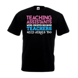 $enCountryForm.capitalKeyWord UK - Teaching Assistants Were Created T Shirt Funny School Assistant Teacher Gift TopFunny free shipping Unisex Casual Tshirt top