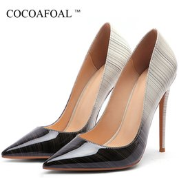 $enCountryForm.capitalKeyWord Australia - Cocoafoal Women's High Heels Bride Shoes Woman Valentine Shoes Fashion Sexy Heels Shoes Patent Leather Party White Wedding Pumps