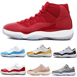 $enCountryForm.capitalKeyWord NZ - High Low Top 11s Men Basketball Shoes High Quality Golden Blue Red Mens Designer Sports Running Tennis trainers Casual Sneakers Size 7-13