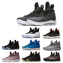 Ingrosso Ashes Ghost Floral Lebrons 15 Scarpe da basket Lebron shoes Sneaker 15s Mens sports James us 7-12
