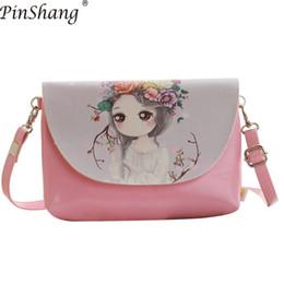 Cheap PinShang Children Handbag Girl Cartoon Pattern Wallet Mini Satchel  Portable Bag Single-shoulder Bag Bags for Women ZK15 c629efefe2a4d