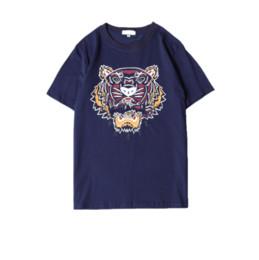 $enCountryForm.capitalKeyWord UK - Summer Designer T Shirts For Men Tiger Head Brand tshirts with letters Printed Crew Neck Luxury Mens Shirt Tops Short Sleeve Tee Clothing