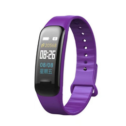 $enCountryForm.capitalKeyWord Australia - C1 Plus Smart Wristband Bracelet Smart Color Step Counter Fitness Tracker Heart Rate Blood Pressure Monitor Smart watch