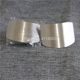 Safety Gadgets Australia - 300pcs Stainless Steel Hand Guard Finger Protector Safety Cooking Tools for Vegetable Peeler Cutter Kitchen Gadgets Helper