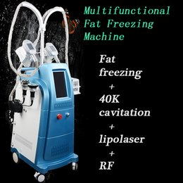 Machine tripolar Multipolar radio frequency online shopping - CE handles fat freezing vacuum rfcavitation machine cavitation multipolar tripolar radio frequency TWO YEARS WARRANTY