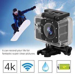 Action Camera Set Australia - Professional Action Camera Set EK7000 Ultra HD Wireless Sports Action Camera