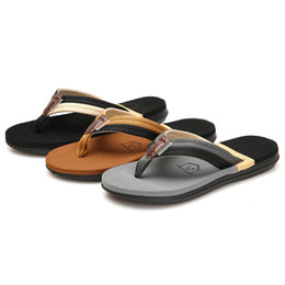 $enCountryForm.capitalKeyWord Canada - YOUYEDIAN 2019 Cotton Fabric Men's Fashion Casual Flat Flip Flops Slippers Beach Shoes Outdoor Antiskid Shoes for beach #g25