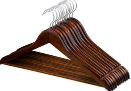 $enCountryForm.capitalKeyWord Australia - 120Pcs wooden Clothes hangers Outdoor Drying Rack clothing coat closet organizer Clothes Closet Hangers Drying Rack