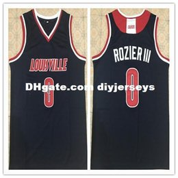 0b91445432b Retro Top #0 Terry Rozier III Louisville Cardinals college basketball jersey  Customize all size Stitched XS-6XL vest Jerseys NCAA