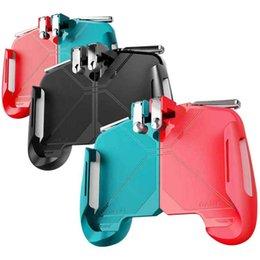 AK16 Mobile Game Controller Verschiedene Farbe Spielposition Position Schnelles Schießen Key Assist PC Zink-Legierung Spiel Griff Joystick