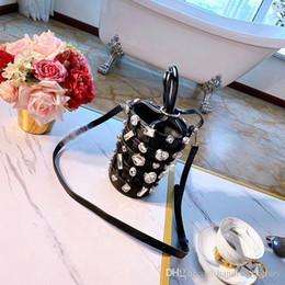 $enCountryForm.capitalKeyWord Australia - Designer Brand Alexander High Quality Handbag Diamond Inlay Bucket Hand Strap Crossbody Bag Leather 5a Purse