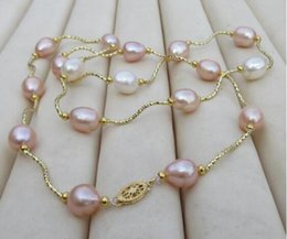 $enCountryForm.capitalKeyWord Australia - 9-11 mm real natural south sea multicolor pearl necklace 25inch 925silver yellow @hfgjnhf