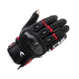 $enCountryForm.capitalKeyWord Australia - Free Shipping Racing Gloves Leather 2019 Rst410 Perforated Breathable Motorcycle Bike Riding Racing Moto Gp Gloves