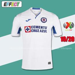 e99f943b6fe Thailand Quality 2019 2020 Mexico Club Cruz Azul Liga MX Soccer Jerseys 19  20 Home Blue Away White Football Shirts camisetas de futbol