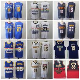 754863309eb Men Basketball Uniforms Australia - Denver Basketball Nuggets Nikola Jokic  Jersey 15 Men Edition Jamal Murray