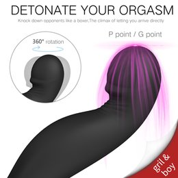 $enCountryForm.capitalKeyWord Australia - Remote Control Male Prostate Massage Vibrator Silicone Stimulator Prostate Waterproof Dildo Ring Ejaculation Delay Sex Products SH190731
