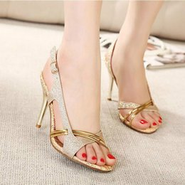 one day dress NZ - Summer 2020 new fashion versatile high heel sandals dress shoes wedding banquet party one of the first choice 34-39