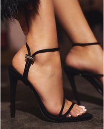 Woman Fans Australia - Sexy2019 Shoeswomanwish European Fan Tangguo Color High With Sandals Side Air