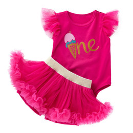 15cf1e132d9a5 European Infant Clothes UK - newborn baby girl clothes Newborn Outfits  Girls Baby Suit princess lace
