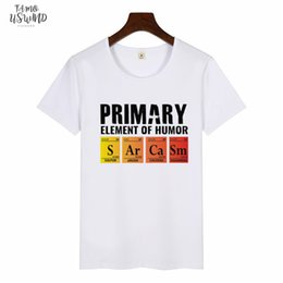 si shirts NZ - Periodic Table Of Humor Womens T Shirt Si Er Ra Science Sarcasm Primary Elements Chemistry T Shirt Casual Funny Print Graphic Tee