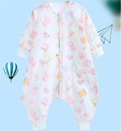 Toddler Sleep Sacks Australia - Unicorn Flamingo Animal Printed Baby Cotton Toddler Sleeping Bag Sack Long Sleeve Wearable Blanket Girls Boys For Spring Summer Fall FJ165