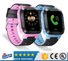 Sos Camera Australia - Original Y21 GPS Smart Watch with Camera Flashlight Watch SOS Call Location Device Tracker Child Safety Android IOS Universal