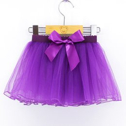 Wholesale performance tutu kids for sale - Group buy New Layers White Pink Black Purple Kids Fluffy Ballet Tutu Stage Wear Dance Leotard Skirt For Girls Performance Dancing S L