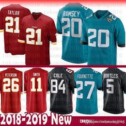 Jacksonville 20 Jalen Ramsey Jaguars 27 Leonard Fournette Jersey 84 Cole  Bortles Washington 26 Peterson 11 Alex Smith 21 Kerrigan Redskins 52bf93b6b