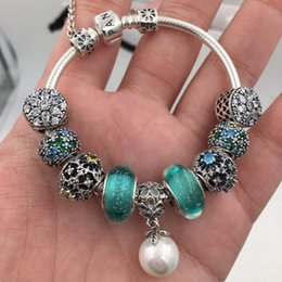 Thanksgiving Gift Packing Australia - New Arrival Top Quality Bracelets Women's Luxury Jewelry S925 Sterling Silver Lovers Gift Pandora Charm Beads Original Packing H