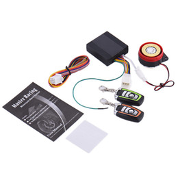 $enCountryForm.capitalKeyWord Australia - 12V Motorcycle Alarm System Anti-theft Security Lock Dual Remote Control Engine Start Guard Against Theft for Motorbike Scooter